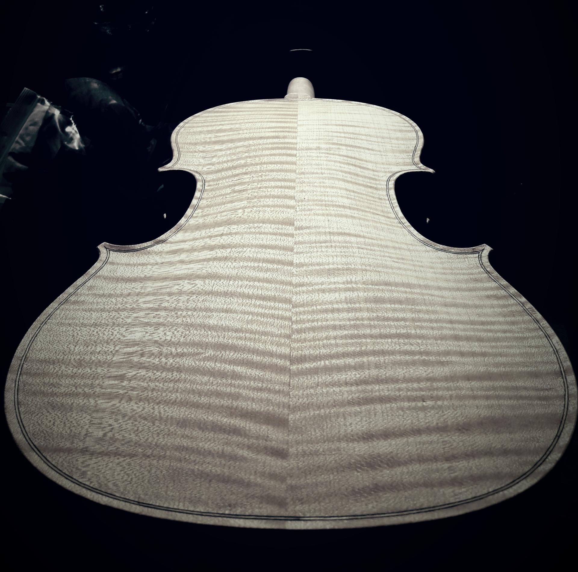 violon fond