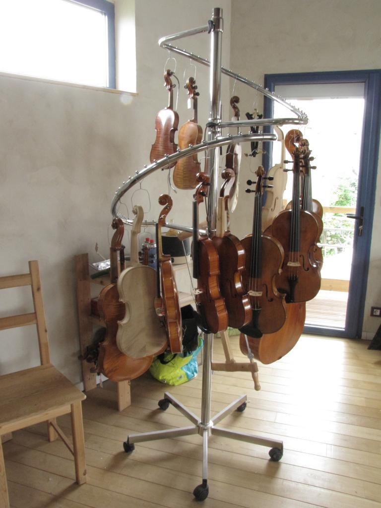instruments en cours et finis